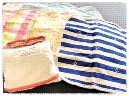 サニーデイズの布ナプキン